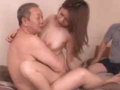 Hottest Japanese chick Rena Kazuki in Incredible Cuckold, Big Tits JAV movie