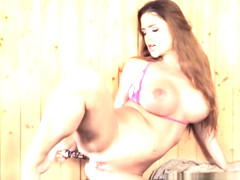 Solo Mistress Dildoing Herself In Both Holes