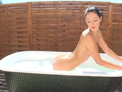 Horny pornstar Nicole Smith in crazy solo, big tits xxx video