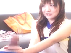 Crazy Japanese slut Azuki Tsuji in Amazing Teens, POV JAV scene