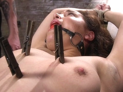 Gabriella Paltrova  The Pope in Super Slut Is Subjected To Brutal Torment And Bondage - HogTied