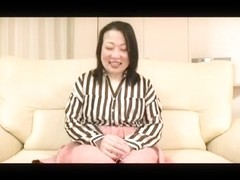 52yr old Thick Granny Nobue Ugou Creamed (Uncensored)