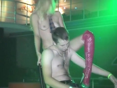 Slender Young Stripper Is Eager To Dance Around This Hunky