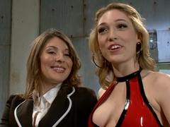 Amazing lesbian, fetish sex movie with incredible pornstars Ginger Gates and Lily LaBeau from Whip.