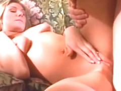 Tall slim brunette babe assfucked by small podgy guy