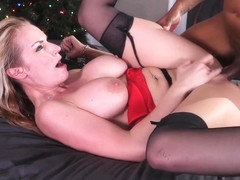 Rachael Cavalli in Interracial Xmas - PornstarPlatinum