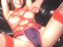 Hottest Japanese chick Azumi Harusaki in Exotic Big Tits, Secretary JAV clip