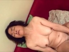 Non-Professional Oriental mother I'd like to fuck use three toys