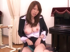 Hottest Japanese whore Nanako Mizukawa in Crazy big tits, masturbation JAV video