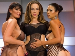 Best fisting, anal porn video with crazy pornstars Eva Karera, Dana Vespoli and Chanel Preston fro.