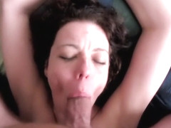Dutch milf sucking and swall...