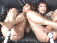 Horny Japanese girl Saki Asaoka, Kurara Iijima, Yuuka Tsubasa in Best BDSM, Toys JAV movie