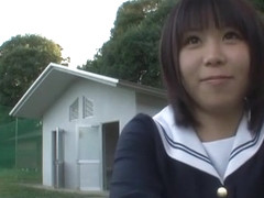 Fabulous Japanese whore Mikan Kururugi in Amazing Outdoor JAV clip
