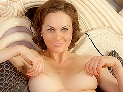 Tina Kay in Bedroom Eyes Scene