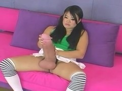 big cock asian futanari