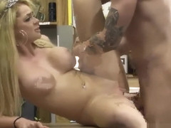 Stephanie-public bar anal weekend crew takes a crack at the